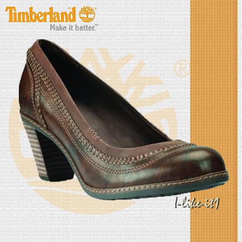 Details zu TIMBERLAND Schuhe Damen PUMPS 27681 Earthkeepers™ MONTVALE PUMPS LEDER BRAUN