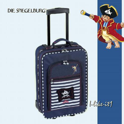 spiegelburg 30314 kleiner trolley koffer capt 39 39 n sharky. Black Bedroom Furniture Sets. Home Design Ideas
