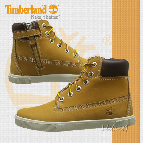 timberland kinder boots 6777r 2 0 ek 6in lace zip wheat gr 33. Black Bedroom Furniture Sets. Home Design Ideas